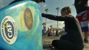 Local Woman Competes in Adaptive Surfing Championships