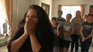 Once Homeless Family Has Apartment Renovated