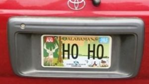 Vanity Plate Lands Santa on Naughty List