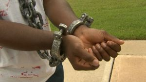 School Makes Student Take off Slave Costume