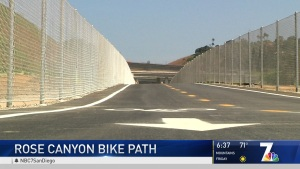 Rose Canyon Bike Path Offers New Option for Cyclists