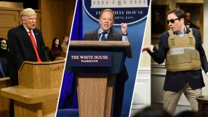 From Spicey to Kush: 'SNL's' First 100 Days of Trump