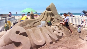 Imperial Beach Sandcastle Competition & Festival Kick Off