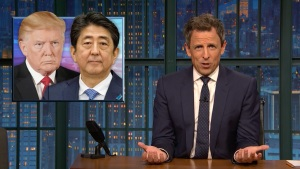 'Late Night': Closer Look at Trump's Asia Trip, Russia Probe