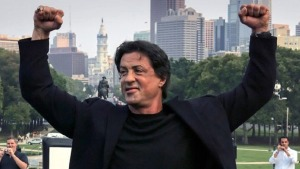 Sylvester Stallone Breaks Up Fight on Movie Set