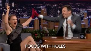 'Tonight': Jinx Challenge With Natalie Portman