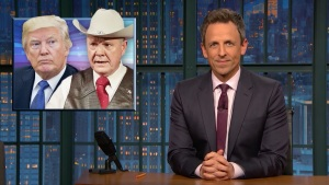'Late Night': A Closer Look at Trump Backing Moore