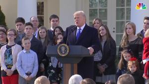 Trump Addresses March For Life 2018