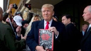 Trump Takes a Jab at Time Magazine