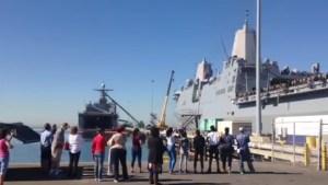 USS New Orleans Departs San Diego
