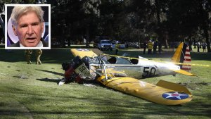 """Battered, But OK"": Harrison Ford Crash-Lands Plane"
