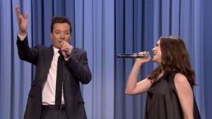 'Tonight': Anne Hathaway Sings Google Translated Songs