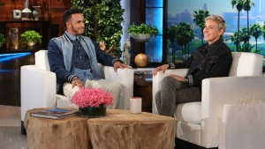 Tyler Perry Pays Set Visit to The Ellen DeGenres Show