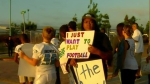 Youth Football Team Protests Expulsion After Parents Fight