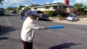 Great-Grandma, 102, Plays Ball With MLB Family