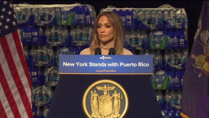 J.Lo Pledges $1M to Puerto Rico for Hurricane Relief