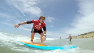 Surfer With Disabilities Inspires SoCal Beachgoers