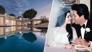 Dreamy Home Elvis and Priscilla Bought as Newlyweds for Sale
