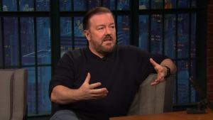 'Late Night': Ricky Gervais on What Aging Has Done to Him