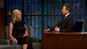 'Late Night': Kellyanne Conway Talks Russian Hacking, Trump
