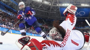 A Shot Called 'Oops I Did It Again' Won the US Gold in Women's Hockey