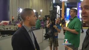 Super Bowl Prep: Steven Luke Hunts Down Joe Montana in Phoenix