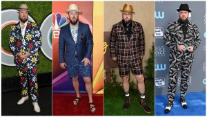 Chris Sullivan of 'This is Us' Takes Risks on Red Carpet