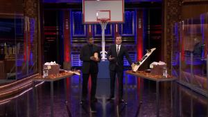 'Tonight': Shootout With Denzel Washington and Steph Curry