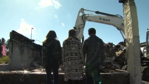 K Sandwiches Owners Vow to Rebuild