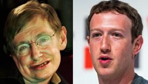 Stephen Hawking Asks the Best Question at Mark Zuckerberg's Facebook Q&A