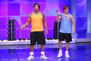 Johnson, Fallon Reveal Workout Videos