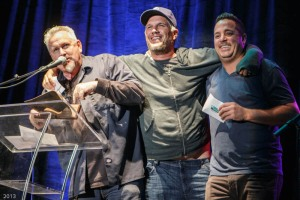 FM 949 Axes Cantore + Woods Morning Show