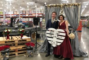 Couple Gets Married Inside San Diego Costco