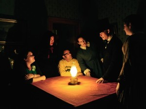 Oil Lamp Tours at the Whaley House