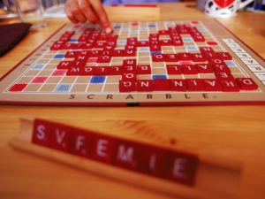 Scrabble at Ojai Valley Inn