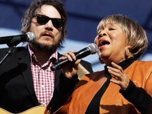 With Mavis Staples, San Diego's 'Not Alone'