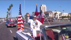 San Diegans Celebrate Veterans Day with Parade, Salute to Service