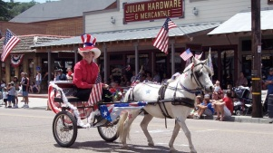 Julian's Jumping: Gold Rush Days + Fourth of July