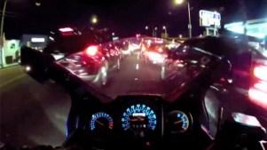 Motorcycle Lane-Splitting Legislation Gets Assembly's Approval