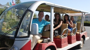 Ponte Winery's Vineyard Bus Tour