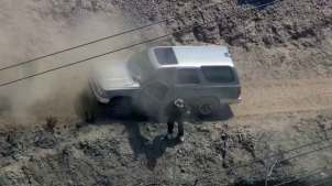 SoCal Driver Sought After Off-Road Pursuit