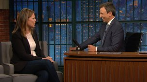 'Late Night' Savannah Guthrie Talks About Interviewing Obama