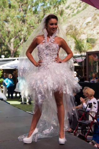 Recycled Fashions in Laguna Beach