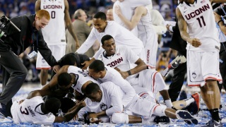 Dramatic Photos: UConn Wins NCAA Men's Basketball Championship
