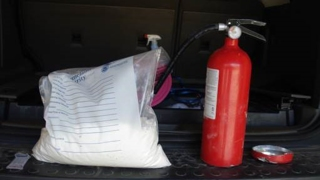 $82K in Cocaine Stashed in Fire Extinguisher