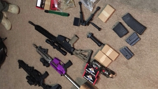 Cache of High-Powered Firearms Seized