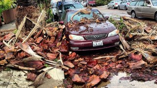 Heavy Storm Sweeps San Diego