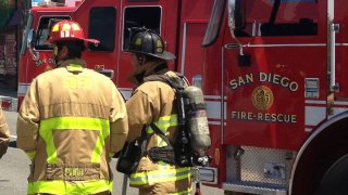 Crews Battle Carmel Valley House Fire