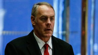 Ryan Zinke Sworn In as Interior Secretary, Giving Him Oversight of US Public Lands