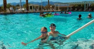Spring-Fed Pool: Death Valley Labor Day Splash